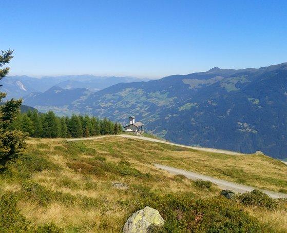 Rundwanderung Hubertusweg ©Erste Ferienregion Zillertal - Barbara Gehr